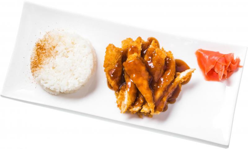 Филе куриное в рисовой панировке