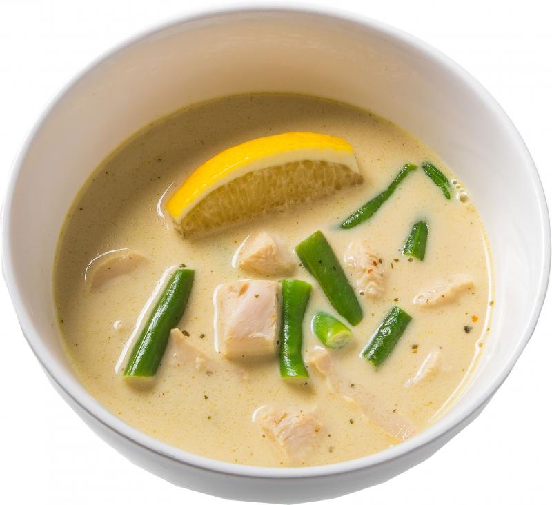 Том-Кха (Тайский суп)